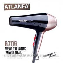 Фен для укладки волос c насадкой AT-6706, фото 3