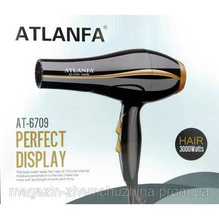 Фен для укладки волос c насадкой AT-6709, фото 2