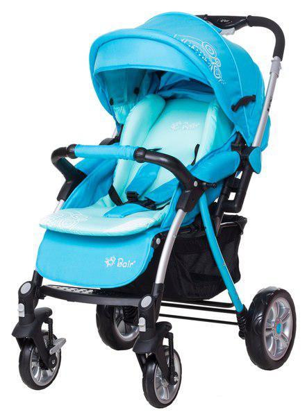 Коляска прогулочная Bair Fox blue