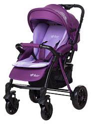 Коляска прогулочная Bair Fox purple светлосиреневый-темносиреневый