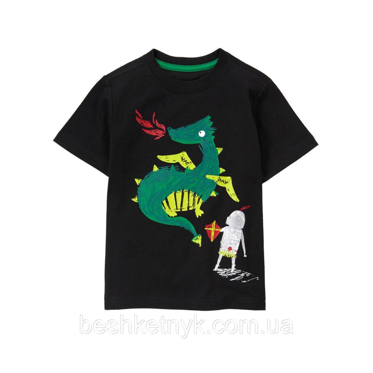 Футболка Gymboree - Лицар та дракончик