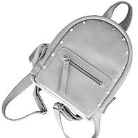 Кожаный рюкзак для девушек baby sport grey на каждый день Jizuz
