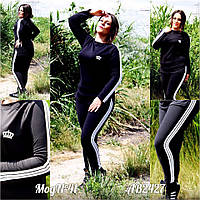 Спортивный костюм Mari-elen с славными полосами по краях костюма (2 цвета) (131)41