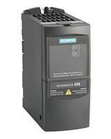 Преобразователь частоты Siemens MicroMaster 420 4 кВт 3-ф/380 6SE6420-2UD24-0BA1