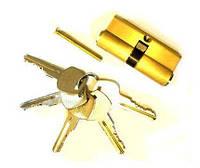 Сердцевина 70 мм на 5 ключей (латунь)