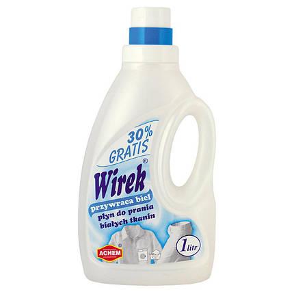 Гель для стирки WIREK 1л (white), фото 2