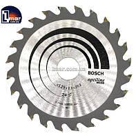Диск пильный Bosch Optiline Wood 125 x 22,2 24