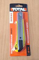 Нож канцелярский Total 18 мм/AN-10303/5х96х3,5