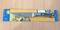 Нож кухонный на планшете, костяная ручка 26 см