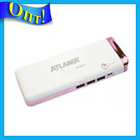 Портативн.зарядн.устр. Power Bank 3xUSB с фонариком 12000mA AT-2032 Elite!Опт