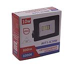 Светодиодный прожектор ATV1-IC 10W 6500K IP65, фото 2