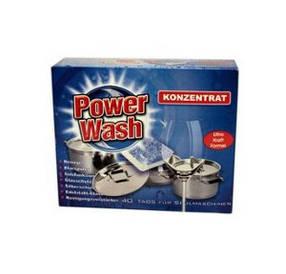 Таблетки для посудомойки Power Wash (40шт.)