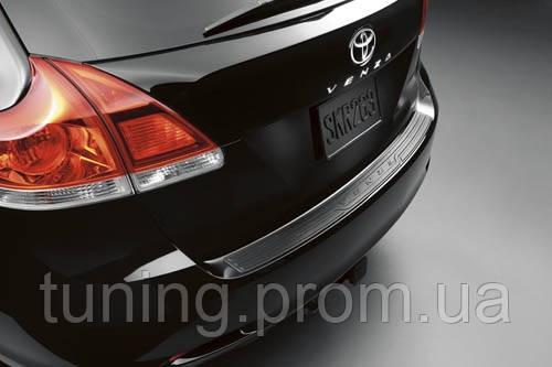 Защитная накладка заднего бампера Toyota Venza 2008-