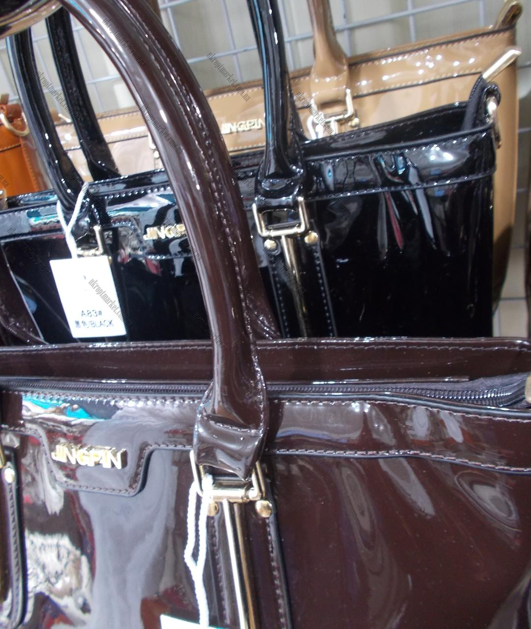 8864f8b6fa73 ... Женская сумка лакированная (31x25см)