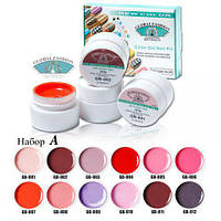 Набор гель-красок Global 5 ml A