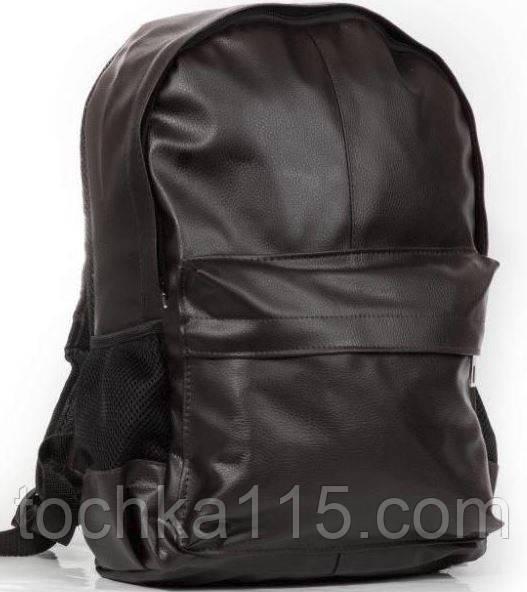 47aa45365b03 Стильный рюкзак, рюкзак городской, кожаный рюкзак черный - Точка 115 в  Николаевской области