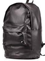 Рюкзак кожаный городской, рюкзак Nike черный реплика