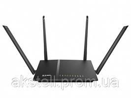 Беспроводной маршрутизатор D-Link DIR-815/AC (1200AC 4xFE LAN, 1xFE WAN, 1xUSB2.0, 4x5dBi антенны)