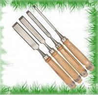 Набор стаместок 4PCS FIRMER CHISEL SET 6-12-18-24mm