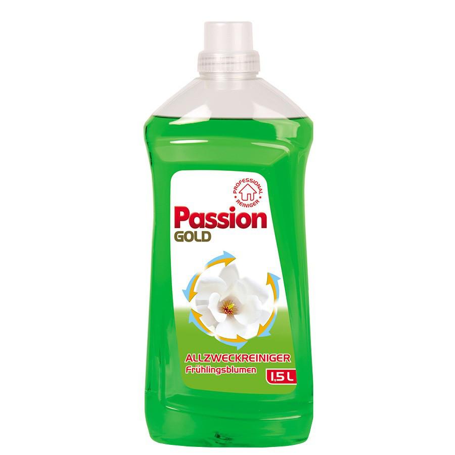 Жидкость для мытья пола Passion Gold (универсальное)1,5 л