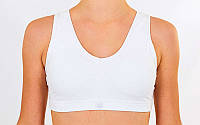 Топ для фитнеса и йоги VSX SP005-W (белый, M)