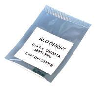 Чип для картриджа OKI C5850 BLACK 8K APEX (CHIP-OKI-5850-B)