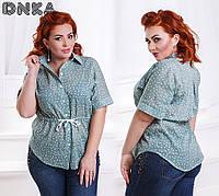 Женская блуза №ат 207-12 большие размеры