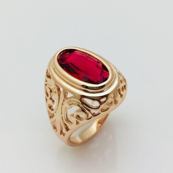 Кольцо Маркиза, размер 17 ювелирная бижутерия