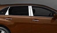 Накладки на дверные стойки Toyota Venza 2008-2012