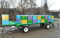 Прицеп для перевозки и обслуживания мобильной пасеки на 18-30 ульев.