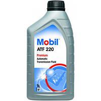 Масло для АКПП и гидроприводов Mobil ATF 220 1 л