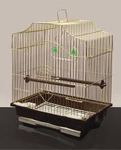 Клетка для попугая (золото)30*23*39