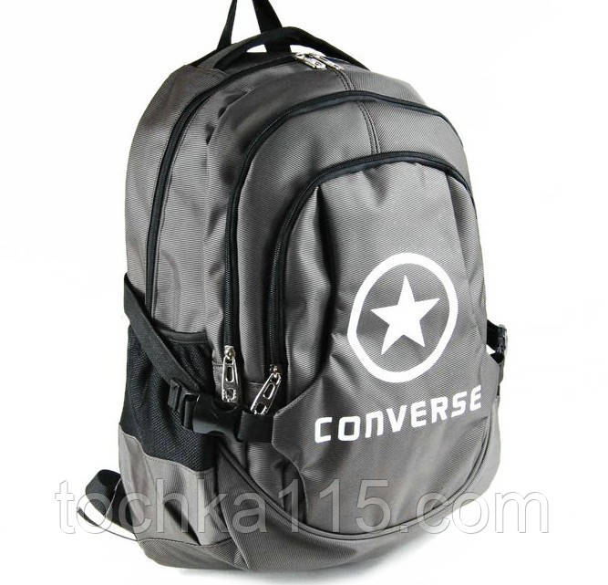 Городской рюкзак Converse серый не оригинал