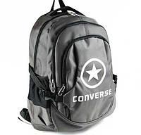 Городской рюкзак Converse серый не оригинал, фото 1