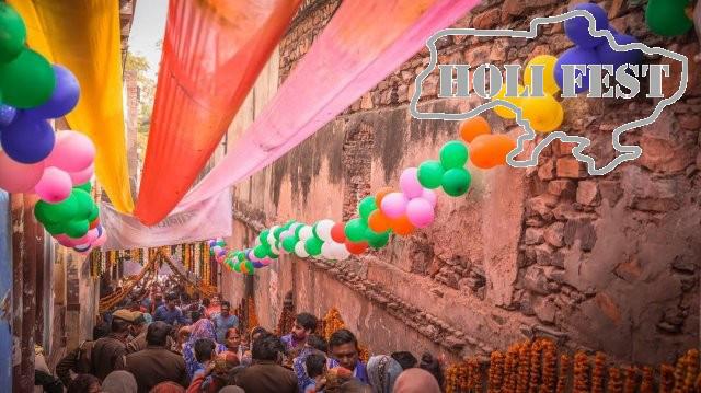 В Індії святкують «фестиваль весни» або як його ще називають «фестиваль фарб Холі»