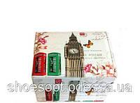 Шкатулка - кейс кожзам Лондон с двойным дном 22х20х11 см, фото 1