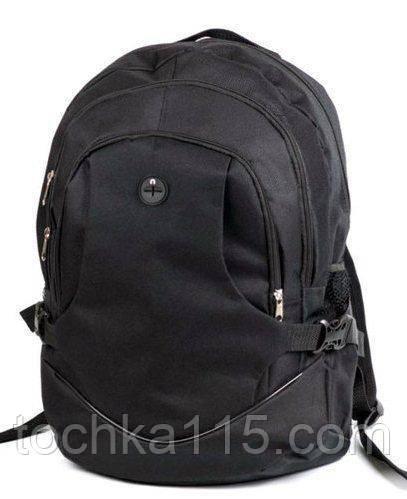 Стильный городской рюкзак на три отдела, спортивный рюкзак, портфель, ранец, вместительный рюкзак