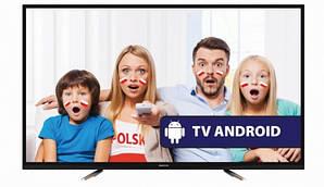 Телевизор MANTA LED 50LUA57L Smart TV Android TV 4K/Ultra HD T2 из Польши 2017 год