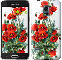 "Чехол на Samsung Galaxy S5 mini G800H Маки ""523c-44-450"""