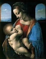 Набор алмазной живописи (квадратные, полная) Мадонна с младенцем