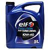 Полусинтетическое моторное масло Elf Evolution 700 Turbo Diesel 10W40 5л