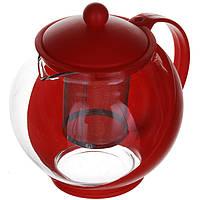 Заварочный чайник пластмасовый 1250 мл A-PLUS (1250G)