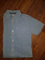 Мягкая   удобная Рубашка в  голубую клетку Children's Place (США) (Размер 7-8 лет)