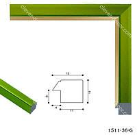Багет для виготовлення рамки 1511-36