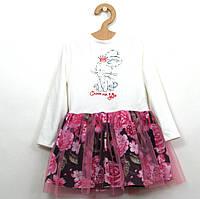Платье с фатином для девочки