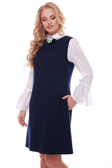 Платье-сарафан с 50 по 56 размер 2цвета