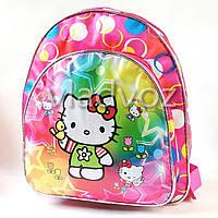 Детский рюкзак для дошкольника Hello Kitty красный