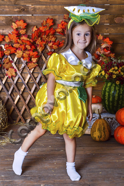 Карнавальный костюм Дынька (Дыня) для девочки