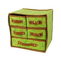 Органайзер  с выдвижными ящиками - для хранения одежды!
