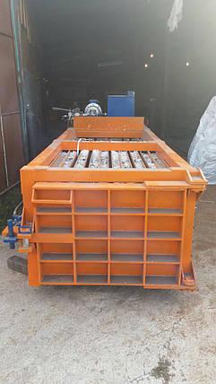 Пресс горизонтальный для ТБО - 40 тонн , фото 2
